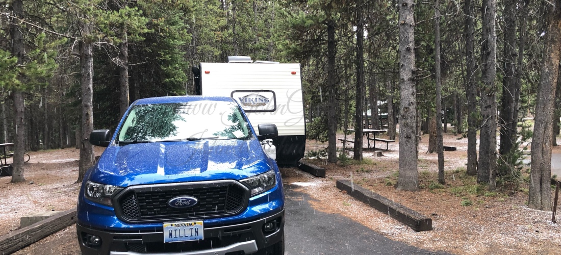 Grant Campground Yellowstone, WY June 21 - 23 2019