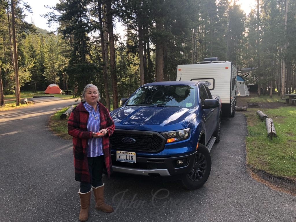 Madison Campground Yellowstone, WY June 23 - 26 2019