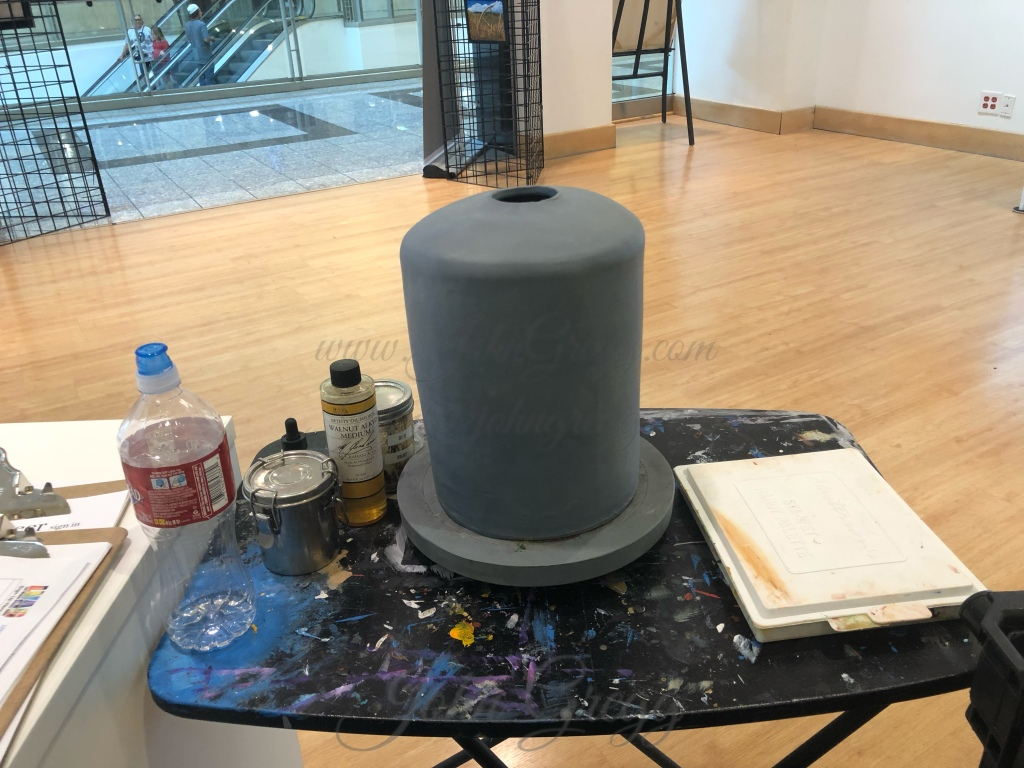 Snowy Forest ceramic bell by John Gregg Studios
